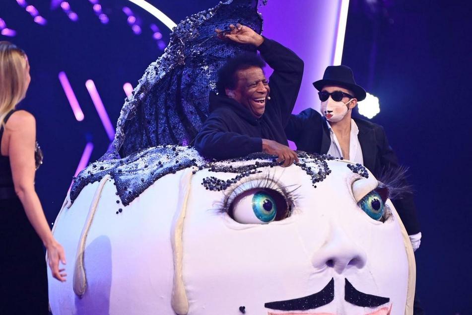 """Im Germknödel-Kostüm bei """"The Masked Singer Austria"""" versteckte sich der deutsche Schlagerstar Roberto Blanco (83)."""