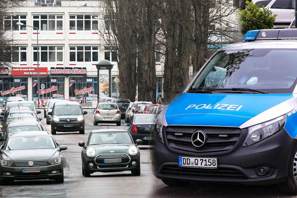 Radfahrer heizt mit E-Bike in Dresden über Fußweg: Müllmann schwer verletzt