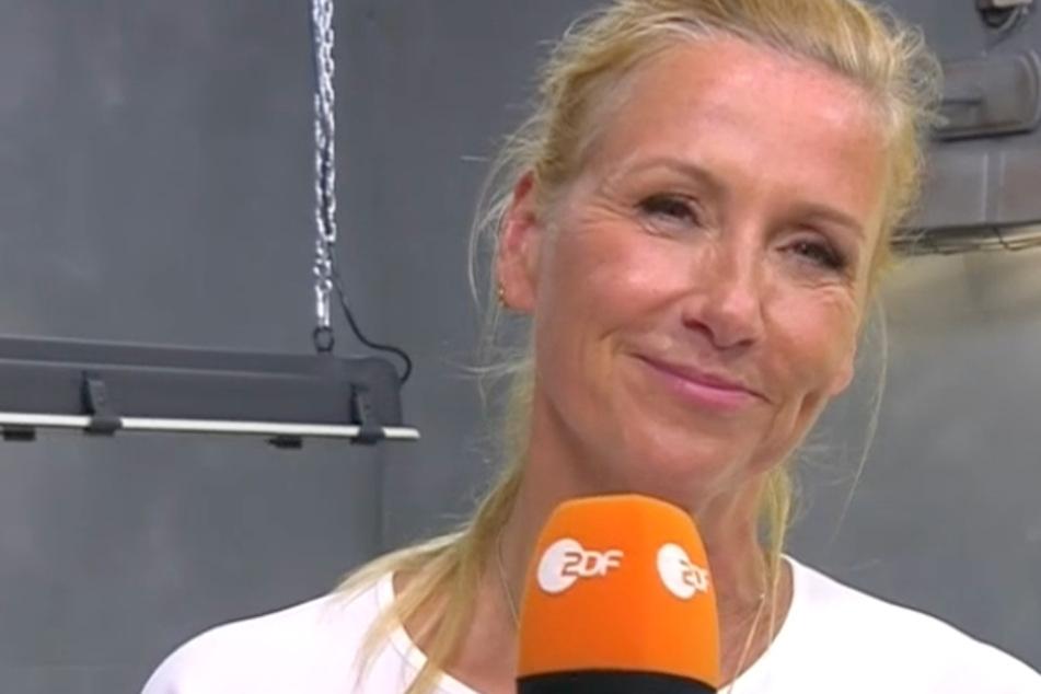 Für Kiwi gibt's weniger Sendezeit im ZDF. Sie startet erst um 21.45 Uhr mit ihrer Silvester-Sause am Brandenburger Tor.