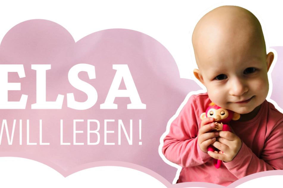 Krebskranke Elsa (2) braucht einen Spender: So könnt ihr der Kleinen helfen!