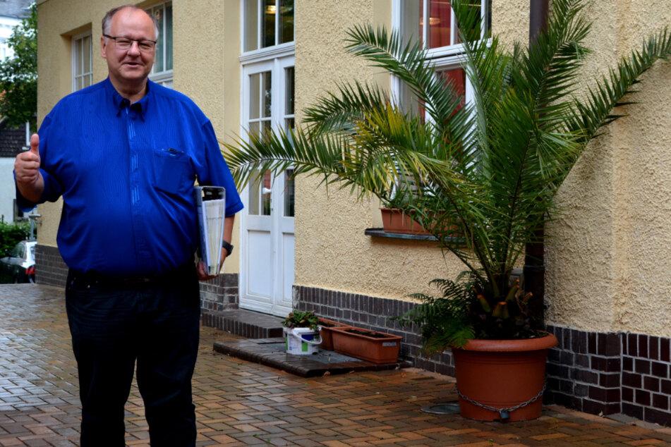 Prof. Andreas Berkner freut sich über die Pläne für die Wasserverbindungen.
