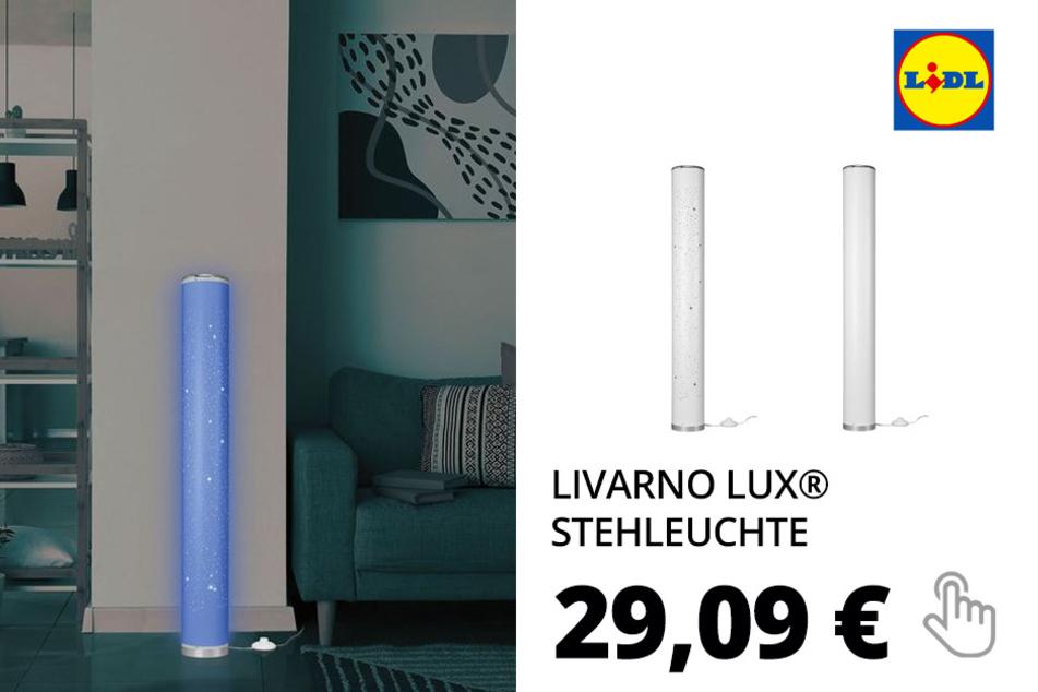 LIVARNO LUX® Stehleuchte, LED, 103,5 cm