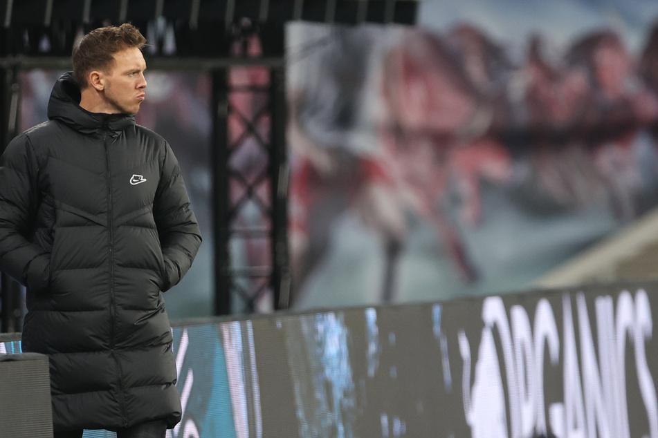 Trainer Julian Nagelsmann trifft mit RB Leipzig in Budapest auf den FC Liverpool.