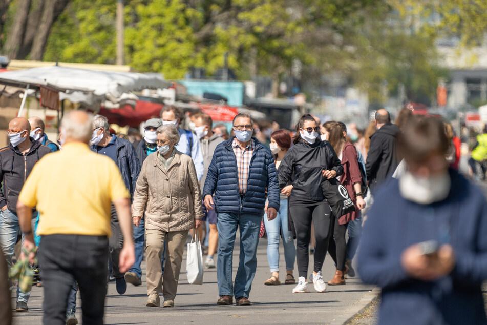 Der Lingnermarkt kommt ab heute ohne Zaun und Sicherheitsdienst aus.