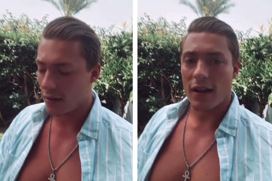 """Henrik Stoltenberg (24) will den Dämonen aus seiner Vergangenheit nun den Kampf ansagen und sich """"professionelle Hilfe"""" suchen, wie er bei Instagram erklärte."""