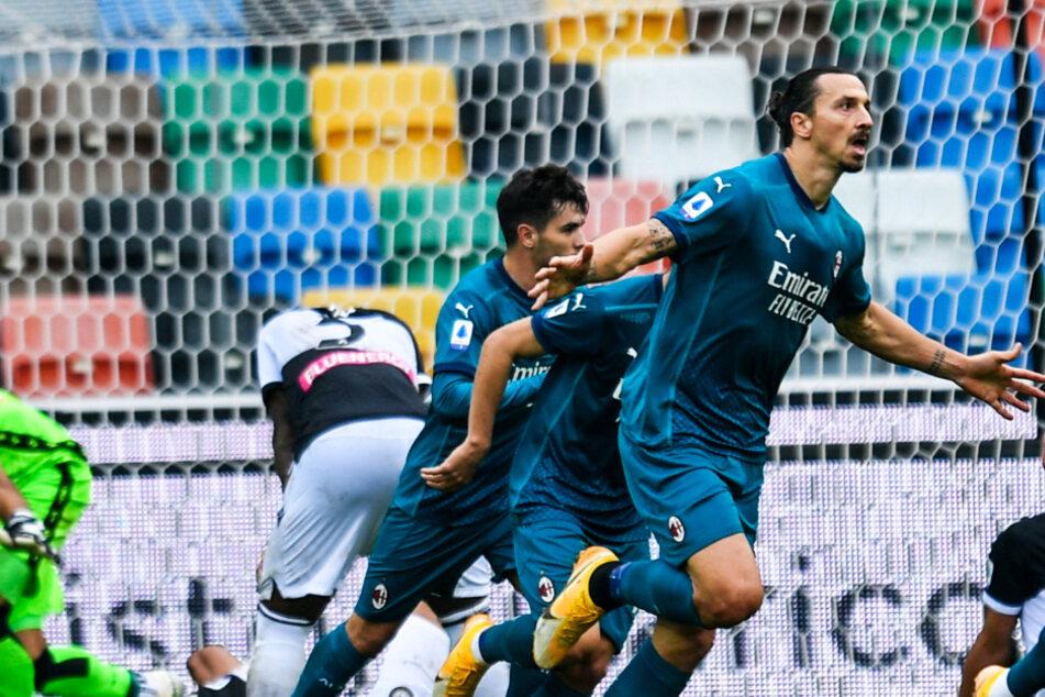Ibrahimovic zaubert weiter: Zlatan mit Fallrückzieher-Traumtor!