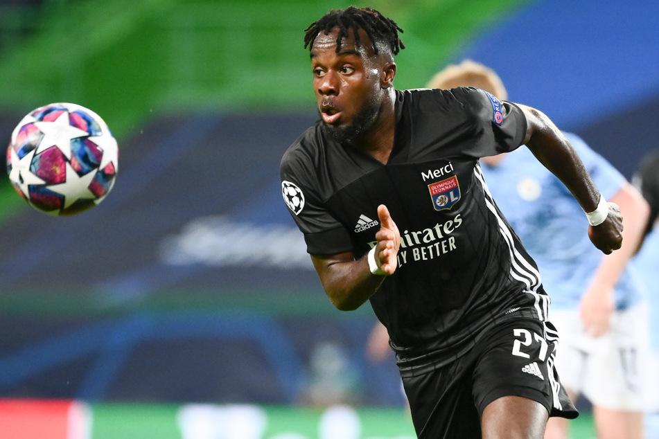Olympique Lyons Maxwel Cornet (24) steht auf dem Einkaufszettel von Hertha BSC.