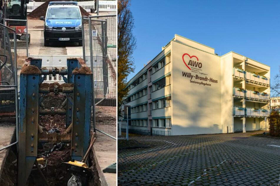Chemnitz: Umzug statt Evakuierung: AWO räumt Pflegeheim Willy-Brandt-Haus um