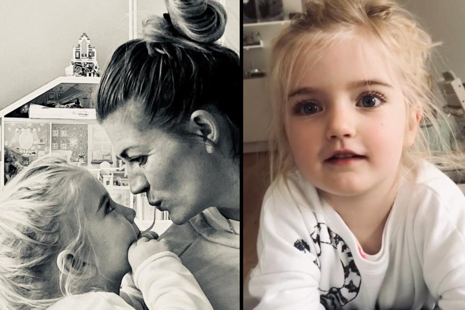 Süß, schlau und witzig: Tochter (4) von Nina Bott erklärt das Coronavirus