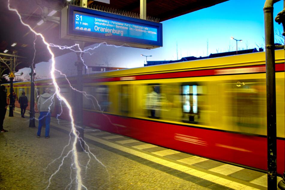 Unwetter in Berlin: S-Bahn warnt vor möglichen Ausfällen und Verspätungen!