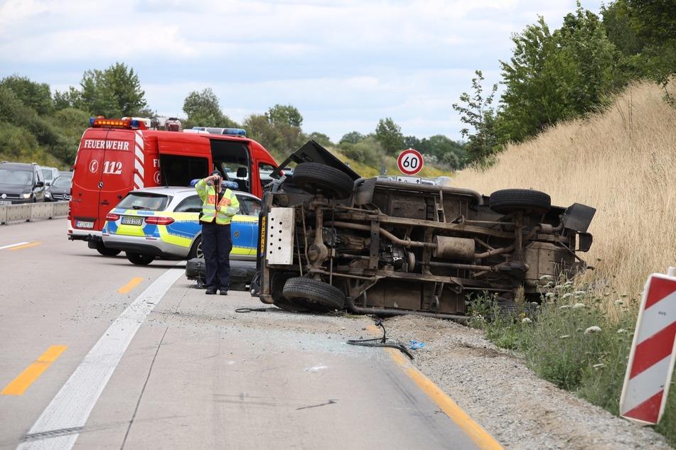 Die Unfallursache ist bisher ungeklärt.