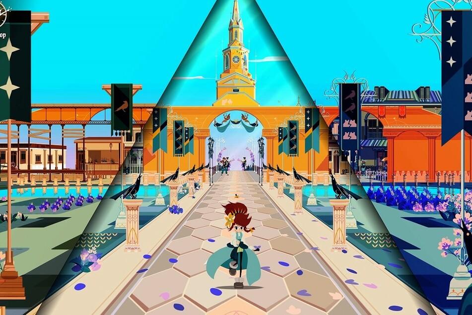 """Der schicke Grafikstil springt dem Spieler bei """"Chris Tales"""" direkt ins Auge. Spielerisch sollen besonders die klassischen RPG-Elemente im Fokus stehen."""