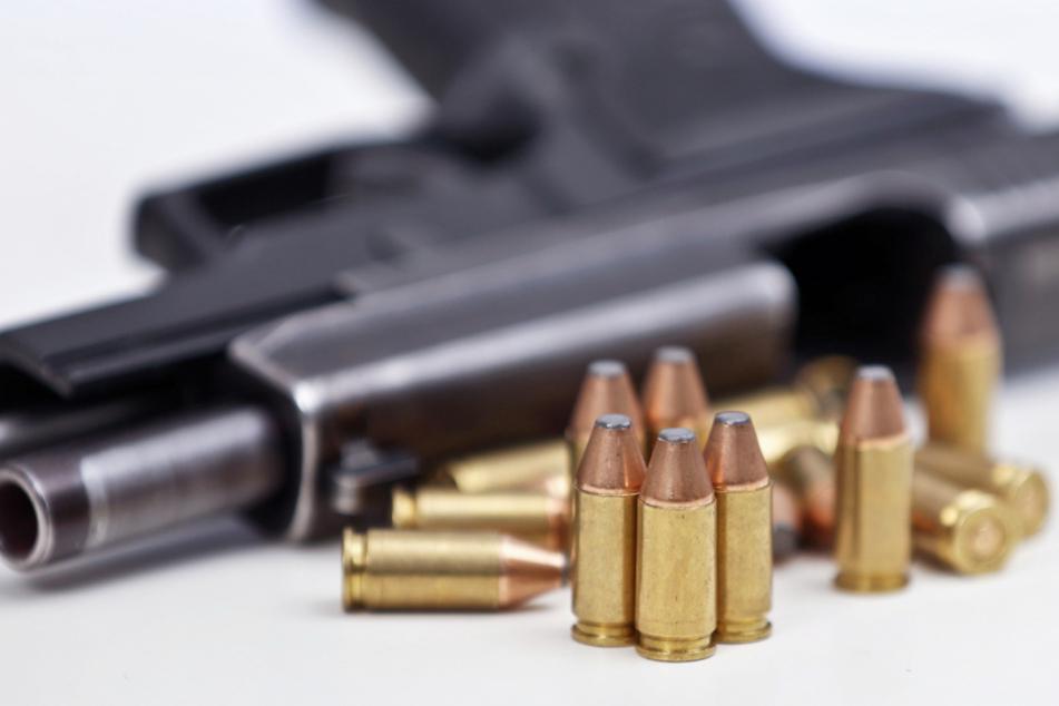 Sig Sauer stellt unter anderem Waffen wie diese Faustfeuerwaffe vom Typ Sig Sauer P226 her.