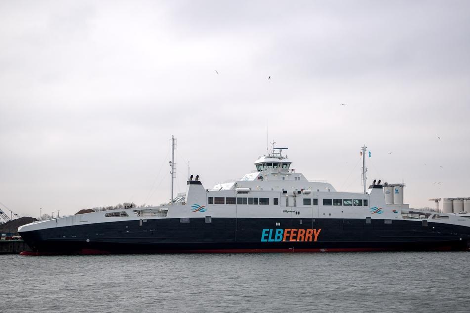 "Das Fährschiff ""Greenferry I""."