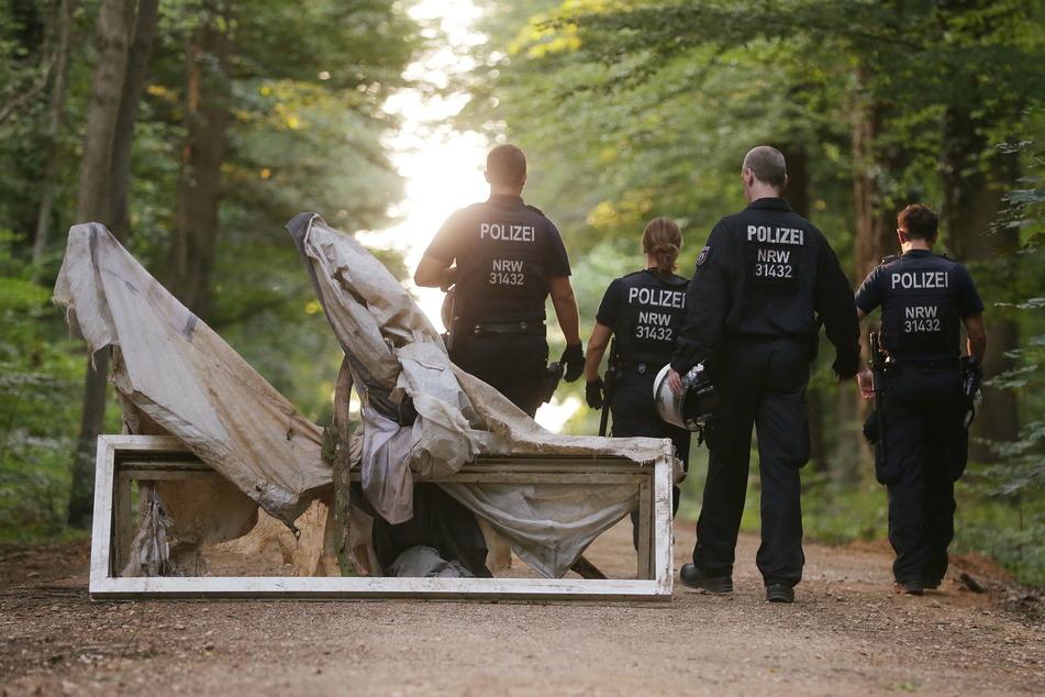 Hambacher Forst: Polizei rückt zu neuen Kontrollen aus
