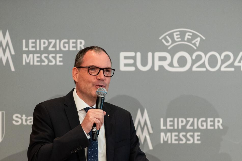 2020 war kein leichtes Jahr für die Messebranche. Geschäftsführer der Leipziger Messe, Martin Buhl-Wagner, blickt dennoch frohen Mutes in die Zukunft.