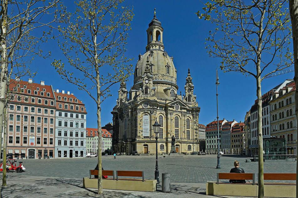 Die Dresdner Frauenkirche öffnet ab dem Wochenende schrittweise für die Besucher.