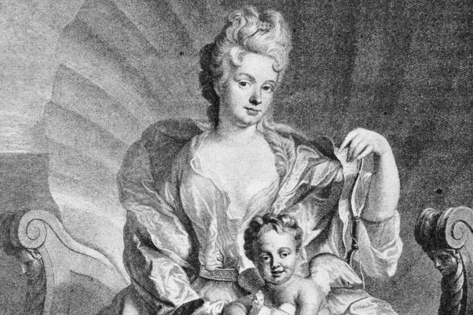 Die berühmteste Mätresse von August dem Starken: Gräfin Cosel.