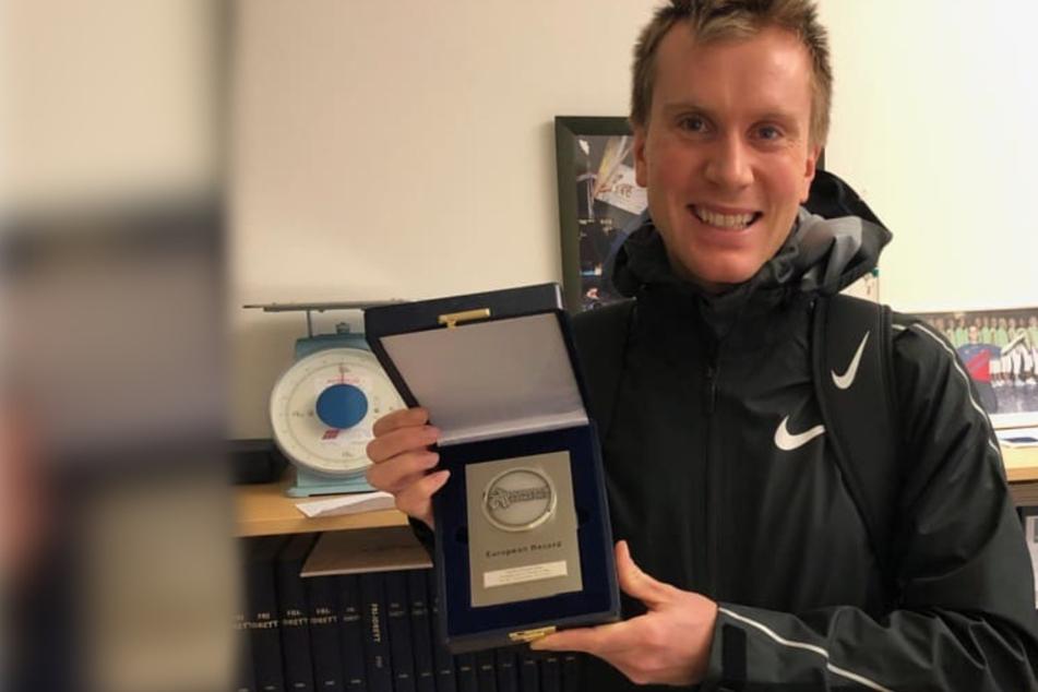 Neuer Europarekord! Norweger läuft in einer Stunde mehr als 21 Kilometer