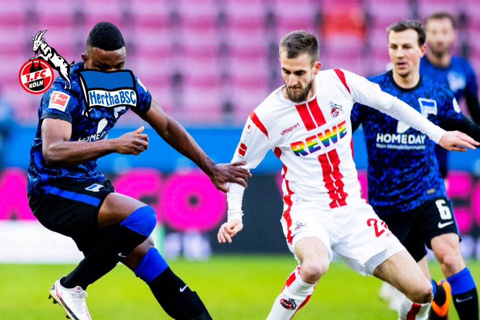 1. FC Köln und Hertha BSC mit Bundesliga-Grottenkick!