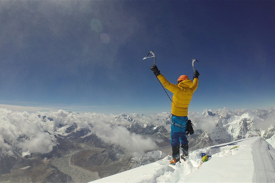 2017 bestieg Jost Kobusch den 7296 Meter hohen Nangpai Gosum II im Himalaya.