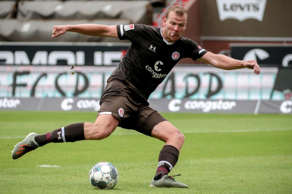 Henk Veerman hat gegen Erzgebirge Aue das Tor zum 2:0 geschossen. (Archivbild)