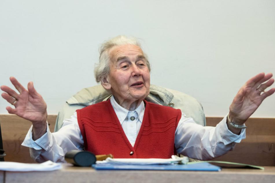 Holocaust-Leugnerin Haverbeck (92). (Archivbild)