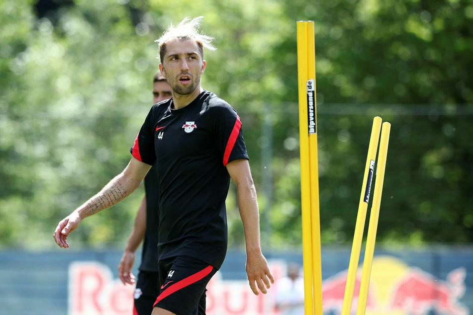 Kevin Kampl (30) sieht sich auch unter dem neuen Trainer Jesse Marsch (47) als tragende Säule bei RB Leipzig.