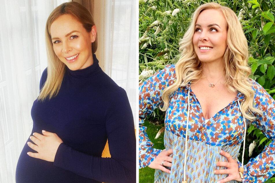 """""""Let's Dance""""-Star Isabel Edvardsson ist im April zum zweiten Mal Mutter geworden und hat nun über ihr Leben als Zweifach-Mama gesprochen."""