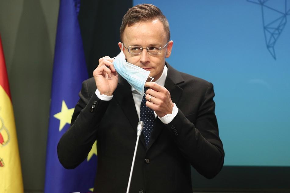 Peter Szijjarto, der Außenminister von Ungarn, hat sich mit dem Coronavirus infiziert.