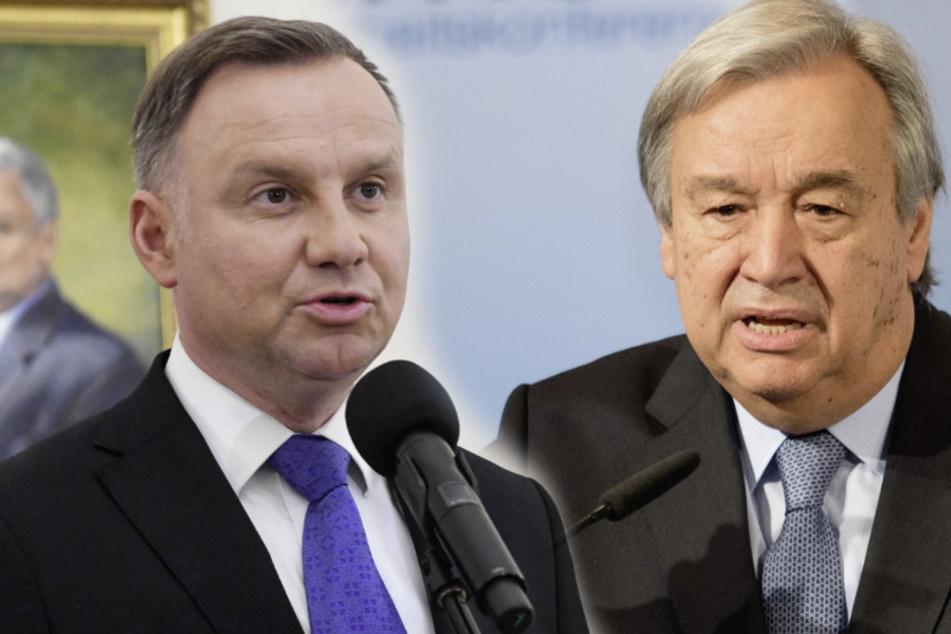Russisches Komiker-Duo verarscht polnischen Präsidenten Duda