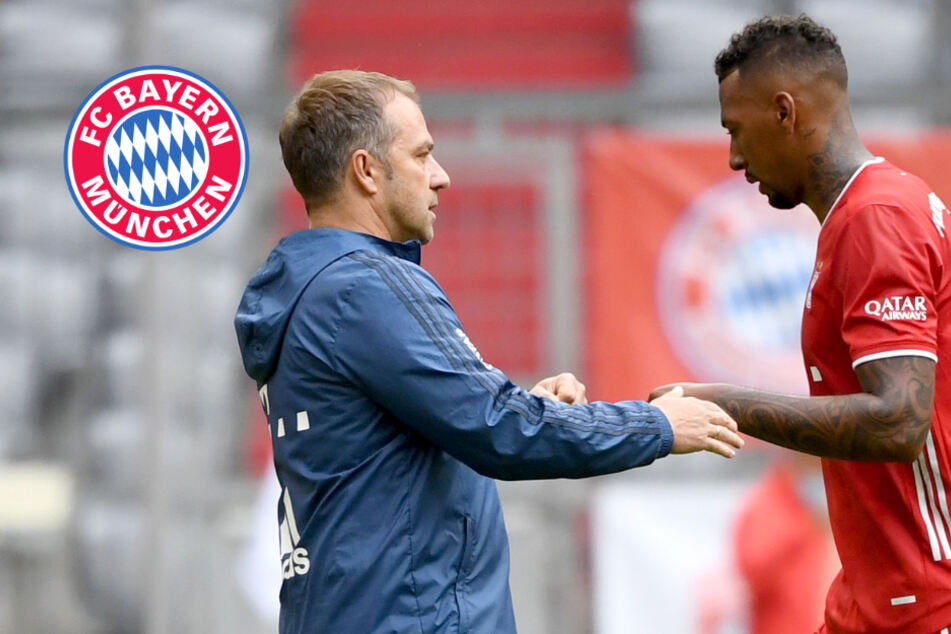 "Bayern-Coach Flick äußert sich zu Boateng-Aus: ""Muss Schauspielern"""