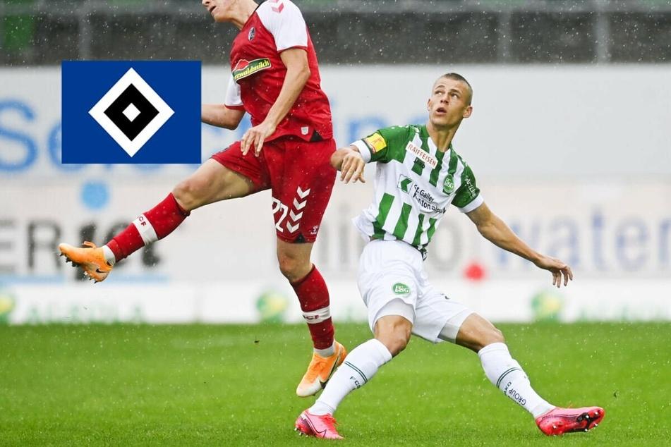 HSV leiht Miro Muheim vom FC St. Gallen bis Saisonende aus