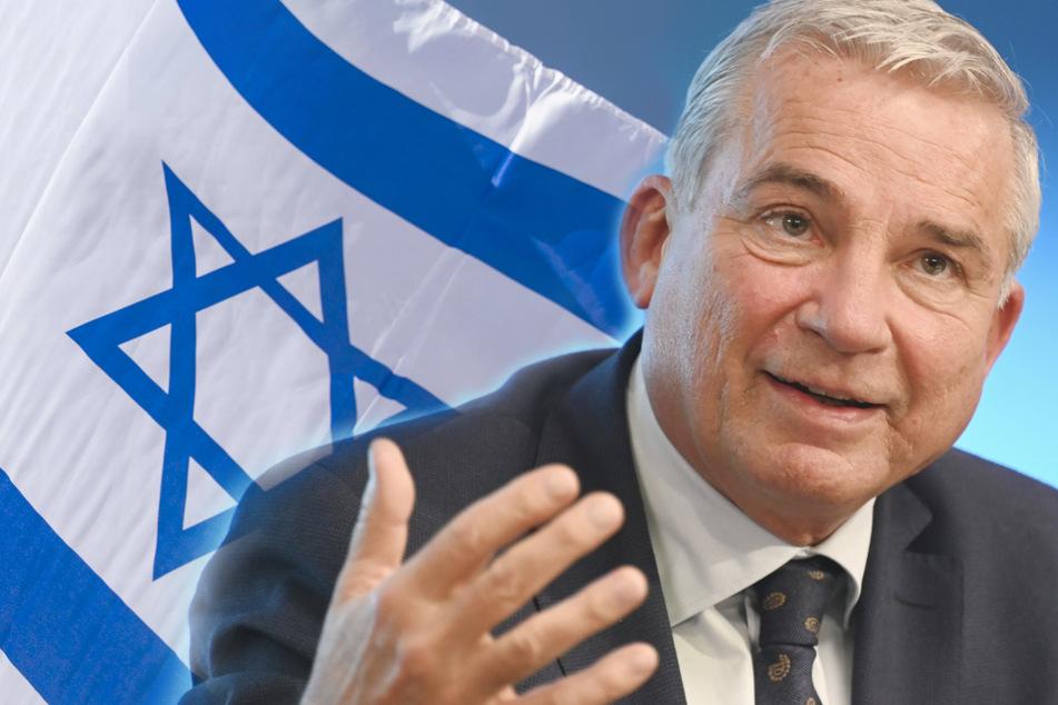Thomas Strobl (CDU, 60) äußerte sich zur Kooperation mit Israel bei Cybersicherheit. (Fotomontage)