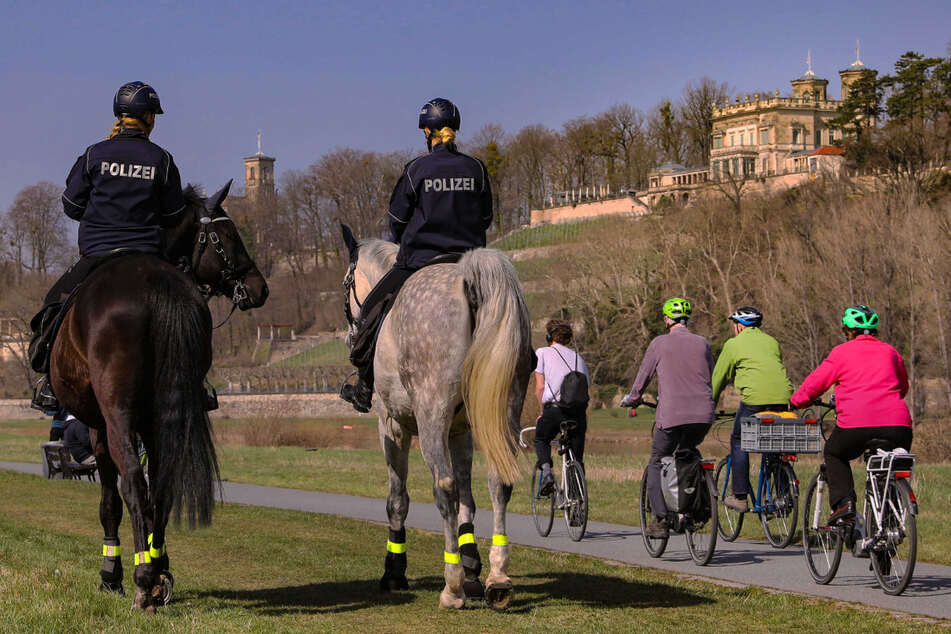 Coronavirus: Mehr Polizei-Kontrollen am Wochenende in Dresden