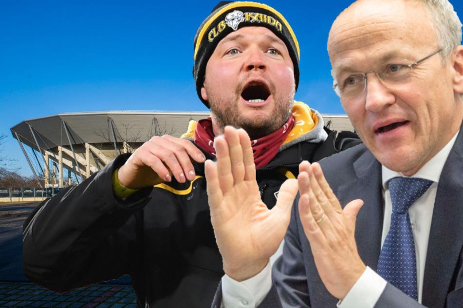 Fans starten Petition: Dynamo kämpft um Rathaus-Millionen
