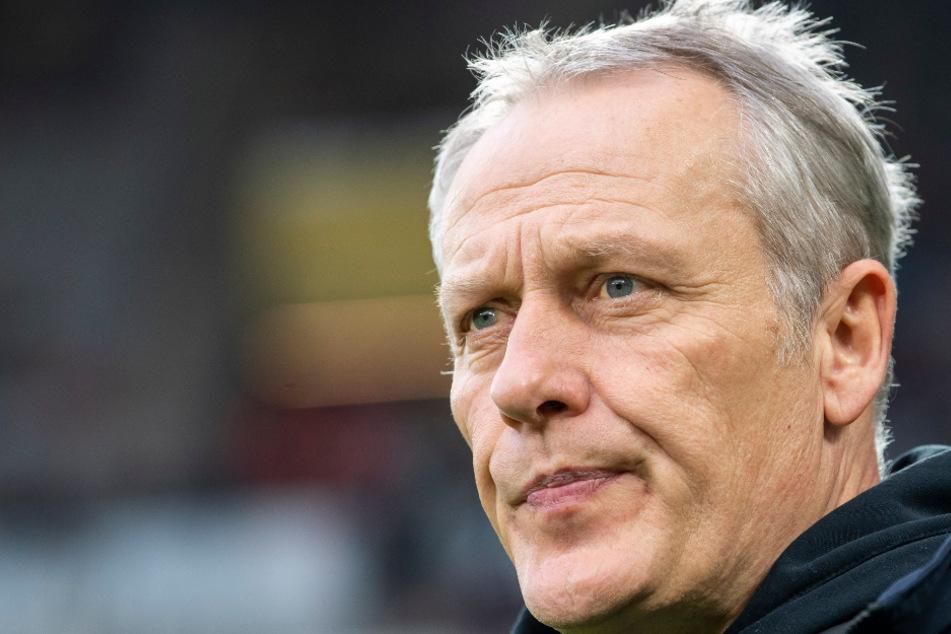 Christian Streich (54), Trainer des SC Freiburg.
