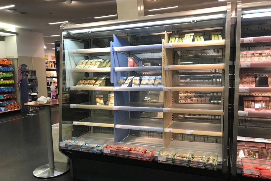 Supermarktregale leer! Lebensmittel-Versorgung nach Brexit gefährdet