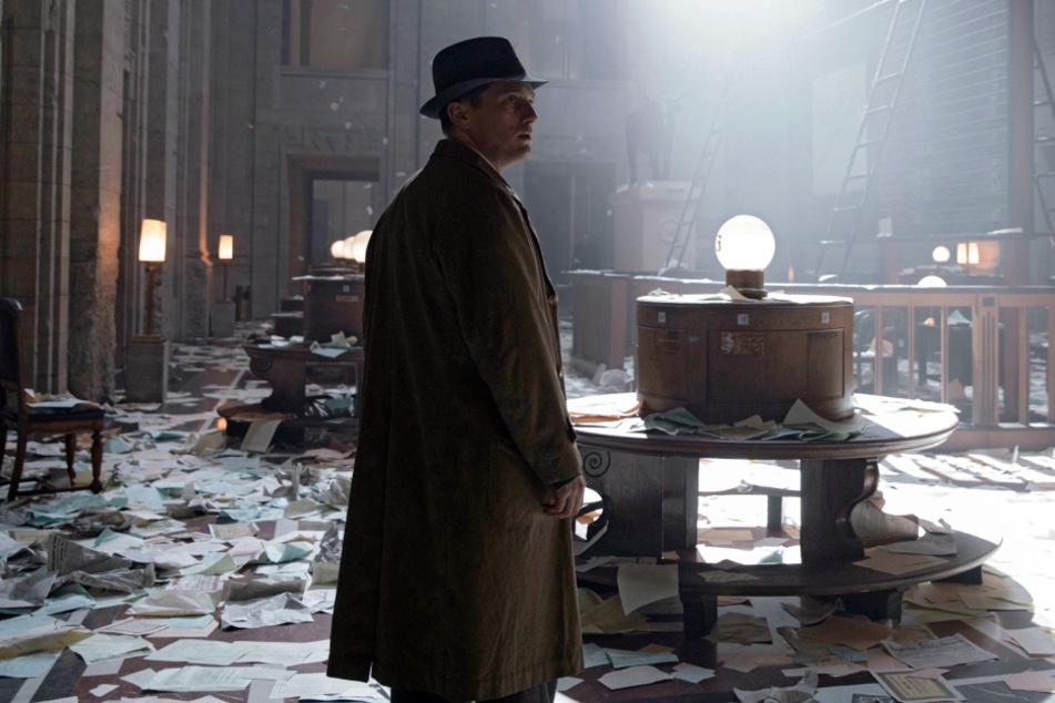 """Gereon Rath (Volker Bruch) in einer Szene der dritten Staffel von """"Babylon Berlin""""."""