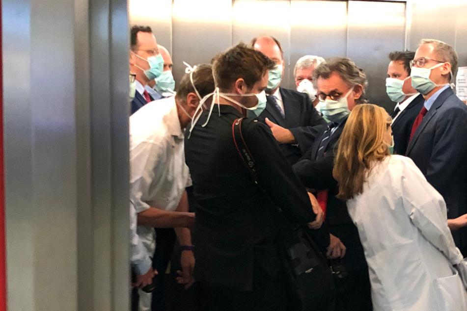 """Corona-Ungerechtigkeit? """"Fahrstuhl-Gate"""" um Gesundheitsminister Spahn bleibt ohne Folgen"""