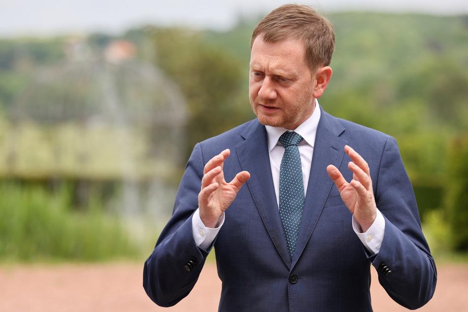 Ministerpräsident Michael Kretschmer (46, CDU) ist schlimmen Anfeindungen ausgesetzt.