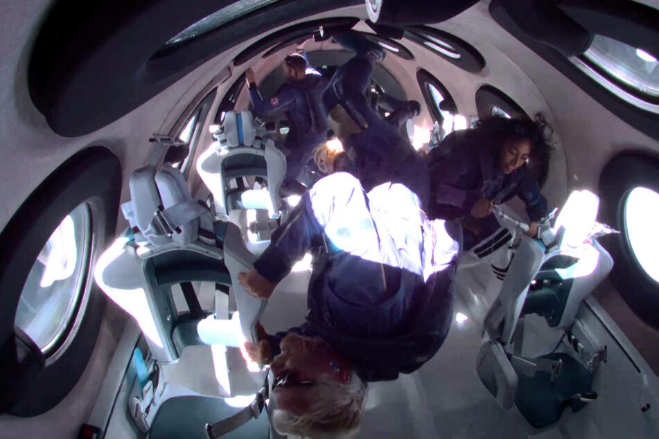 Virgin Group's Richard Branson wins billionaires space race with Jeff Bezos