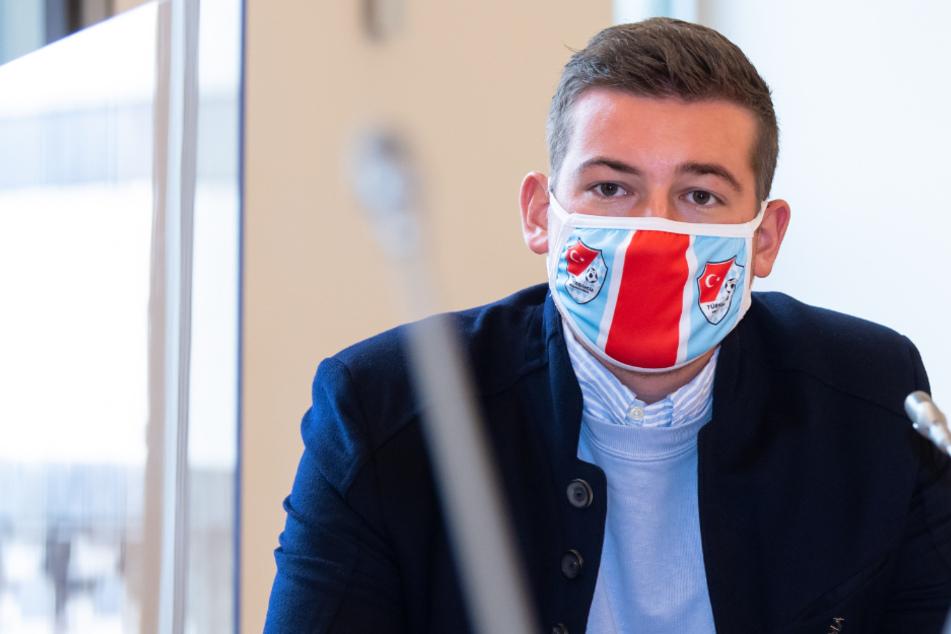 Max Kothny (24), Geschäftsführer von Türkgücü München.