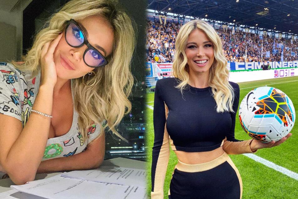 """Einbruch bei schöner Fußball-Moderatorin: """"Wünsche ich nicht mal ärgsten Feinden"""""""