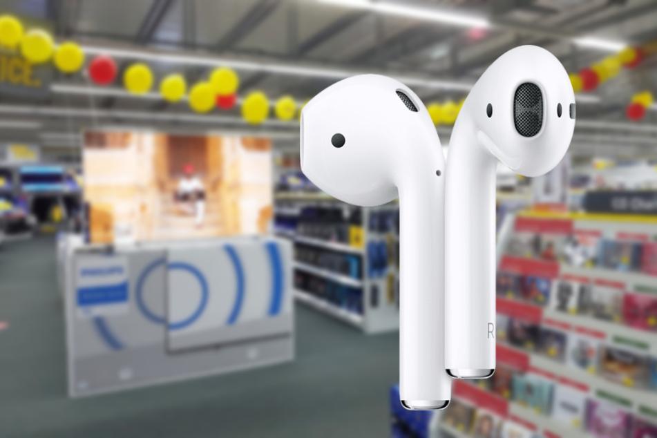 Nur noch heute bekommt Ihr bei MEDIMAX die Apple AirPods super günstig!