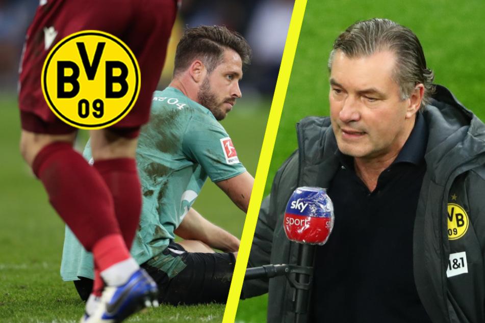 """BVB-Sportdirektor Zorc bedauert Abstieg von Rivale Schalke 04: """"Schade, dass sie runtergehen!"""""""