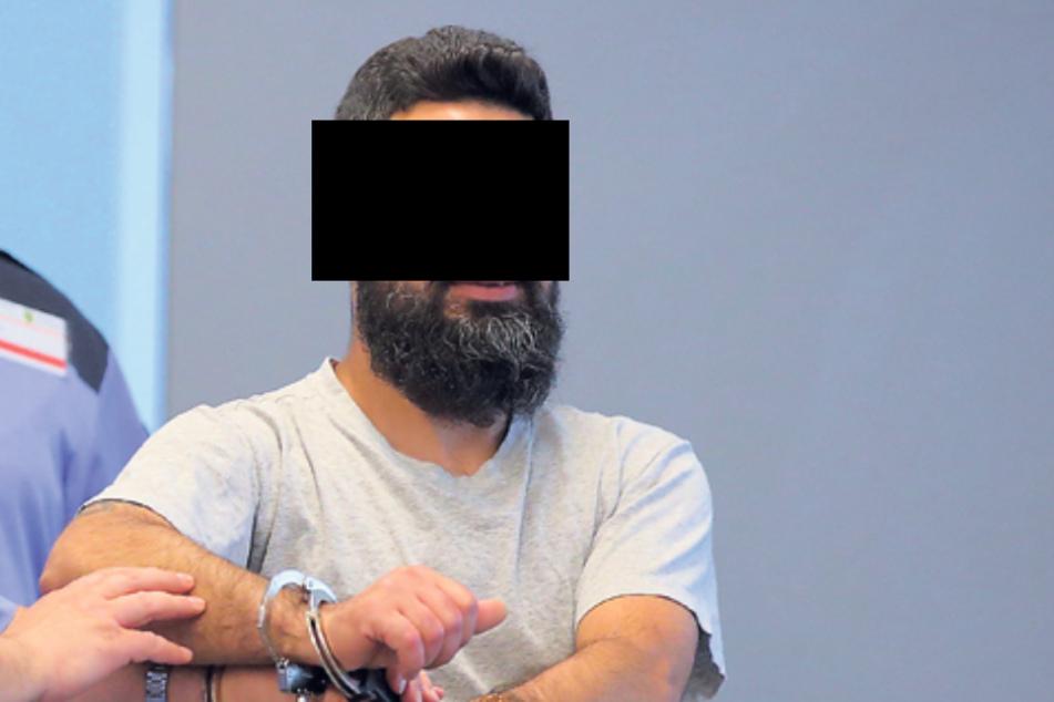 Reinigungskraft Majed H. (37) stach seinen alten Kumpel nieder