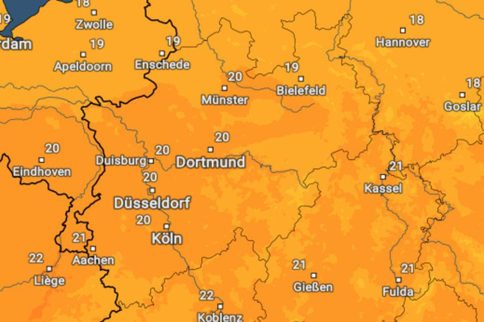 Am Freitag dürfen die Menschen in NRW sich auf heiteres Wetter bei warmen Temperaturen einstellen.