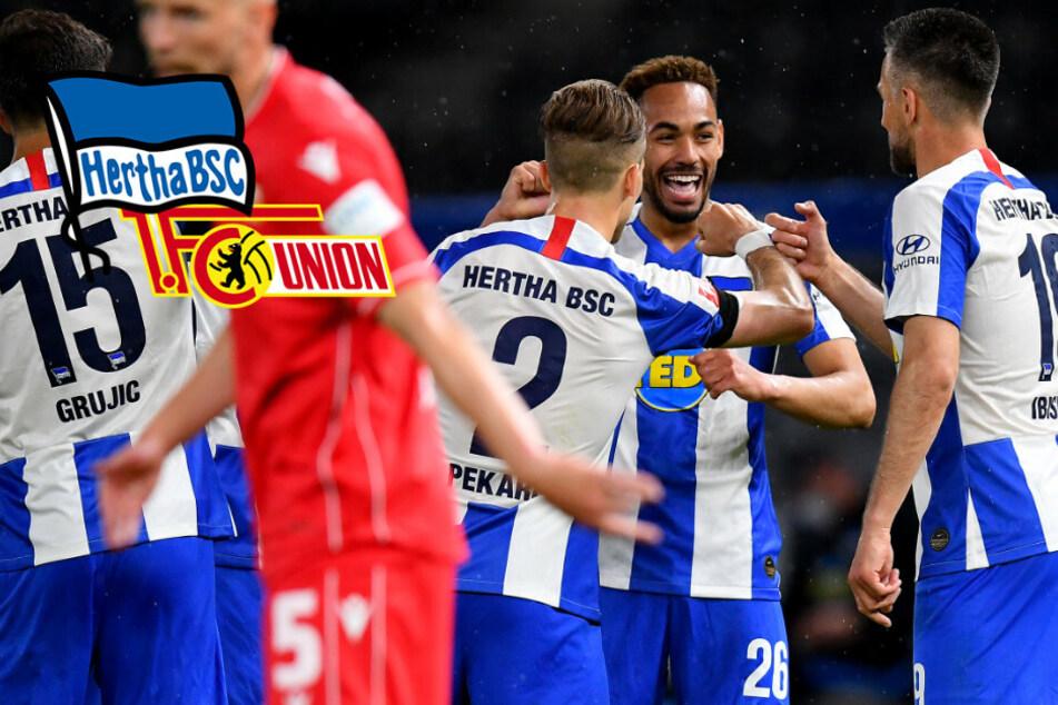 Kantersieg im Geister-Derby: Hertha fegt Union vom Platz