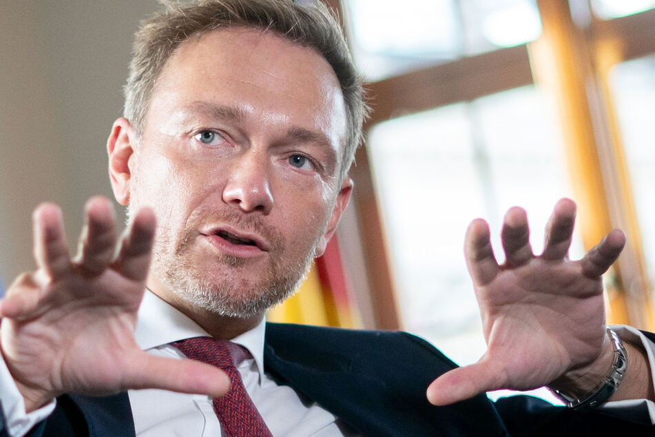 Christian Lindner setzt sich für mehr Investitionen ein (Foto: Kay Nietfeld/dpa).